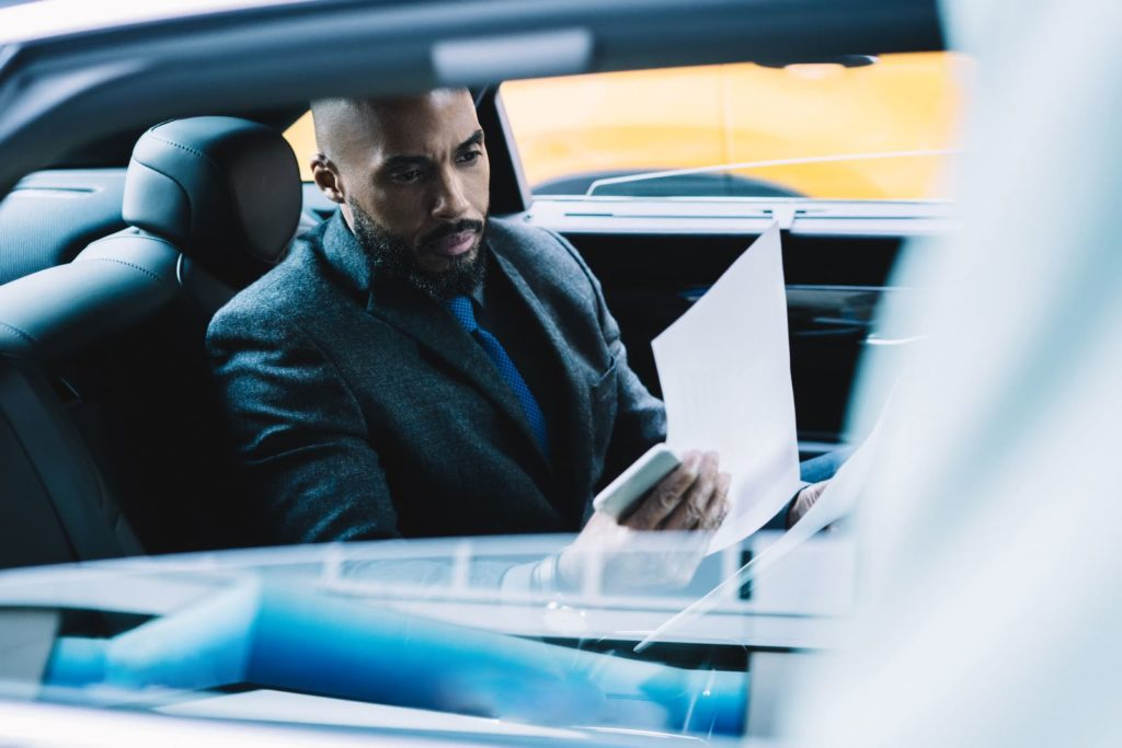 corporate chauffeur service in NYC