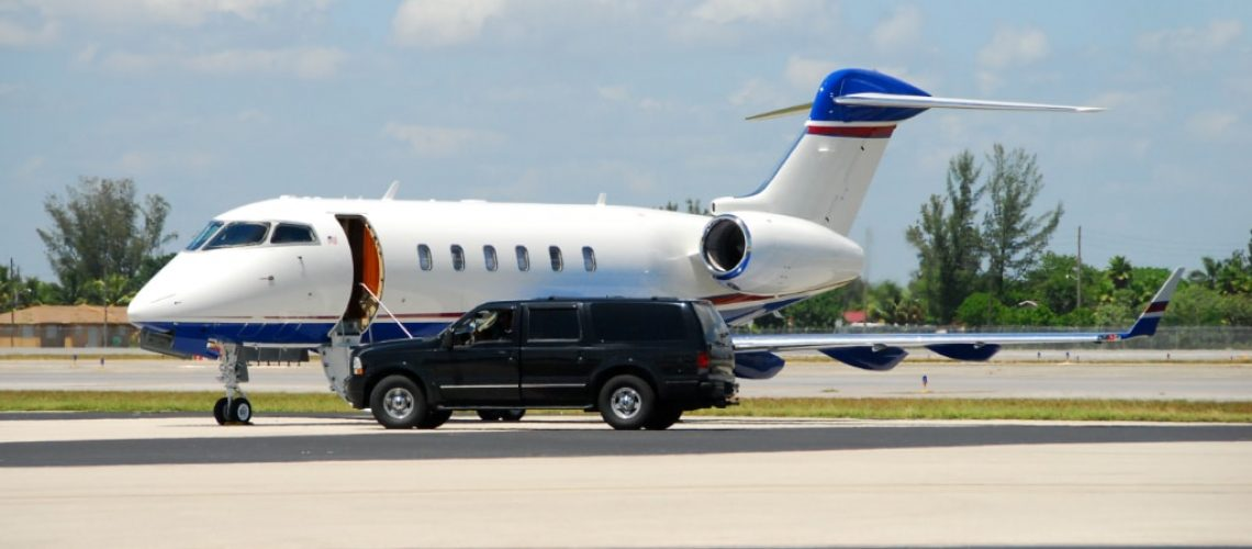 private airport transportation in a pandemic